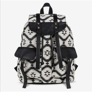 Black Tribal Backpack